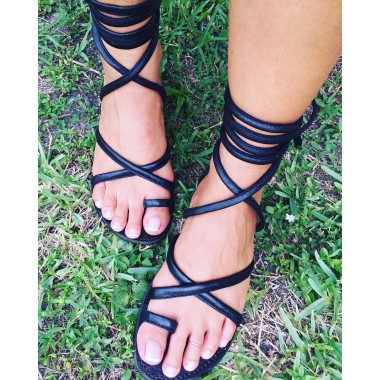 Rebel Sandal Strap Up